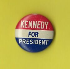 "1960 John F Kennedy 7/8"" / Presidential Campaign Button(Pin 05)"