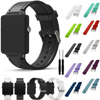 Replacement Sports Silicone Watch Strap Band For Garmin vivoactive Acetate TOP