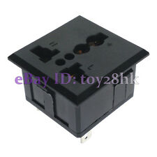 1 * Universal Outlet AC Power Socket Panel Receptacle Max AC250V 13A