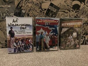 Auf Wiedersehen Pet Trio Dvd Bundle - Series 3 And 4 Plus The Special