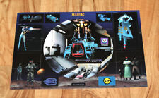 Colony Wars: Vengeance very Rare Sticker Set for the Old Big Playstation 1 PS1