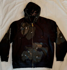Super Rare Nike Air Jordan Black Cat Hoodie Jacket Sz 3Xl