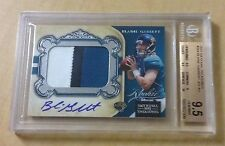 2011 National Treasures BLAINE GABBERT Rc Jersey Patch Auto BGS 9.5 Gem Mint /99