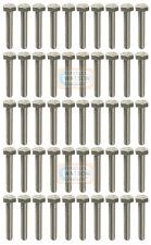 Pack 50-M12X40 Hex Lot Vis filetée Zinc Tête Hexagonale Boulons BZP Fixation (12 mm)