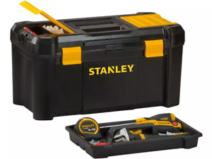 Stanley Toolbox - Tool Box with Tray Organiser 19 inch