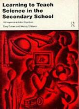 Learning to Teach Science in the Secondary School: A Companion to School Exper,