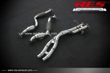 RES RACING Decat (Catless) Downpipe FOR Audi Q7 (4L) 2005-2015 3.6
