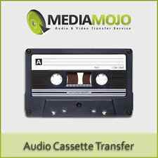 Audio Cassette Tape to CD Transfer Service - 60 Minute Tape (Platinum)