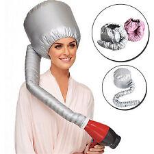 Portable Soft Hair Care Blow Dryer Attachment Drying Cap Bonnet Hood Hat CQ1497
