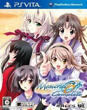 Used PS Vita Memories Off 6 Complete SONY PLAYSTATION JAPANESE IMPORT