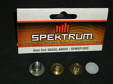 SPEKTRUM SPMSP1003 GEAR SET FOR S6020, A6020 R/C REPLACEMENT SPARES BRAND NEW
