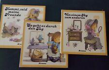 RAR 3 x Kinderbücher vom Hemma Verlag - So geht es durch den Tag - Von einem Tag