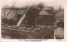 More details for northwich. first photograph of loading salt by h.davis, northwich. canal barge.