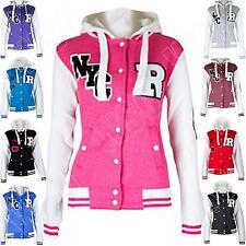 Waist Length Fleece Regular Size Coats & Jackets for Women