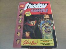 SHADOW COMICS #4 1940 ULTRA RARE DECAPITATION COVER