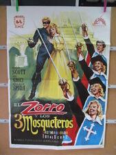 1715       EL ZORRO Y LOS TRES MOSQUETEROS