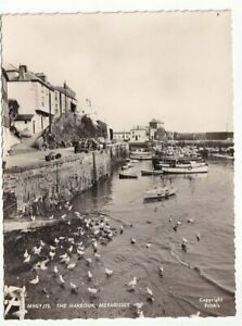 A Frith's Real Photo Post Card of The Harbour, Mevagissey. Cornwall.