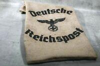 Jutesack Sack Deutsche Reichspost vintage Wehrmacht Reichsadler WK DR Repro Deko