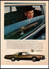 1967 Cadillac Fleetwood Eldorado 472 V-8 68 model 2 door Vintage Print Ad