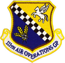 USAF 111th AIR OPERATIONS GROUP PATCH