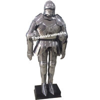 Vintage Medieval Knight Suit of Armor Combat Full Body Armour Costume
