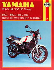 0803 Haynes Yamaha RD250 & 350LC Twins (1980 - 1982) Workshop Manual