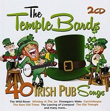 Temple Bards - 40 Irish Pub Songs [New CD]