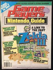 GAME PLAYERS NINTENDO GUIDE MAGAZINE APRIL 1992 - ZELDA III SNES - COMPLETE