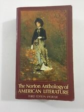 The Norton Anthology of American Literature (1989, Paperback)