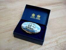 Halcyon Days Enamels - H.M.S. Victory - Trafalgar - Admiral Nelson - Nib