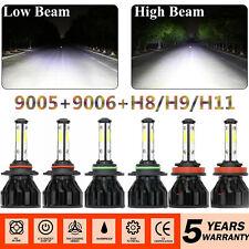 Combo 9005 H11 9006 Cree Led Headlight Kit Hi Low Beam 6000k 4950w 585000lm