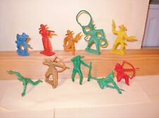 SE123 :  Cow-boys et Indiens Tim-Mee Toys