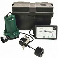 Zoeller 508 Aquanotampreg Spin Battery Backup Sump Pump System 1800 Gph 10