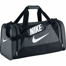 Nike Unisex Nike Brasilia 6 (Medium) Training Duffel Bag Grey/Black BA4829-074