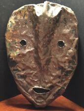 Jerry W Coker Idenity Mask Outsider Art Contempoary , Folk Art
