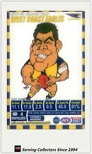 2007 AFL Teamcoach Trading Card Star Wild SW15 Daniel Kerr (West Coast )