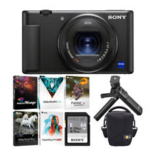 Sony ZV-1 Digital Camera With Vlogger Accessory Kit