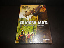 TRIGGER MAN-Idyllic beer-drinking, deer hunting day in the woods turns horrific
