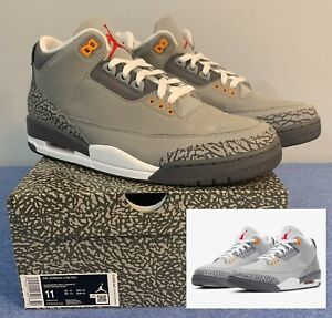 Air Jordan 3 Retro Cool Grey (2021) CT8532-012 size 11 BRAND NEW IN BOX