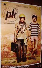 """PK (2014) BOLLYWOOD POSTER # 2 AAMIR KHAN  27 """"X 37"""""""
