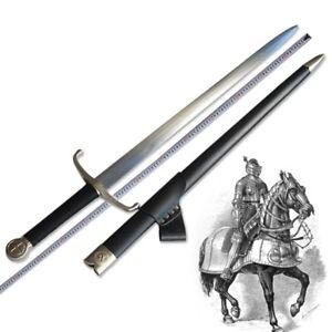 European Medieval Scottish Highlands Claymore Sword Carbon Steel blade #120