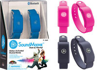 SoundMoovz Motion-Activated Musical Bandz by Cra-Z-Art BLACK  NEW FREE SHIPPING