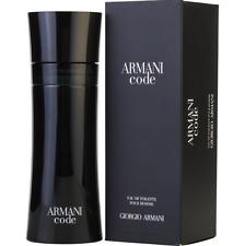Armani Code Edt Perfume Colonia Vial 2.5 4.2 6.7oz Giorgo Armani Men New in box