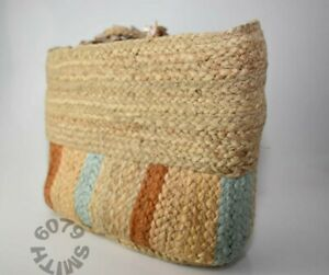 BNWT Zara Large Straw Bag With Tortoise Shell Handle Detail RRP £49.99