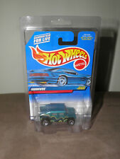 Hot Wheels 1998 Humvee #1080 Green Blue Card