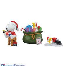 Department 56 4055827 Set/ Peanuts Santa's Helpers 2017