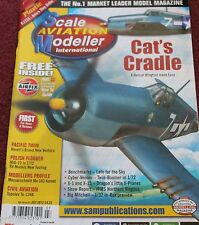 Scale Aviation Modeller 18.7 Tu-134,F6F Hellcat,Mig-23,PV-1 Ventura,Me163