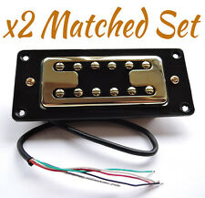 Matched Pair ARTEC FILTERTRON Humbucker Pickup SET GOLD / AP1CP / AP1GP Gretsch
