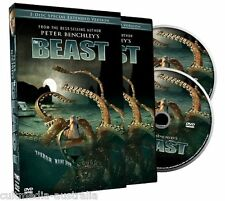 THE BEAST EXTENDED EDITION PETER BENCHLEY GIANT SQUID NEW 2 DVD MOVIE BOXSET R4