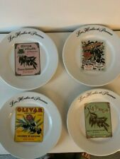 New Boxed Set of 8 French Salad/dessert Plates 8.5 inches